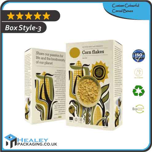 Wholesale Colourful Cereal Box