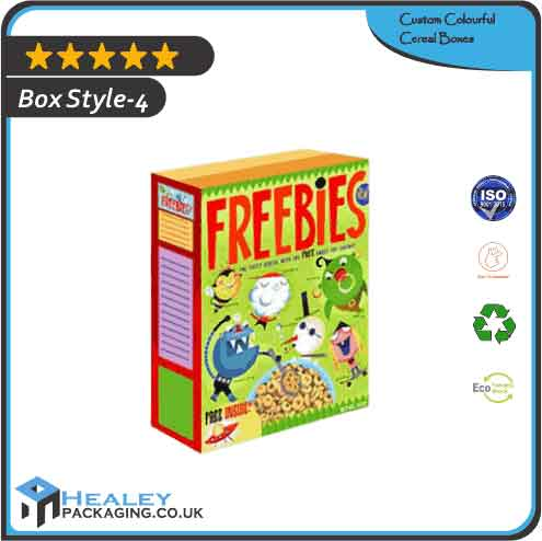 Wholesale Colourful Cereal Boxes