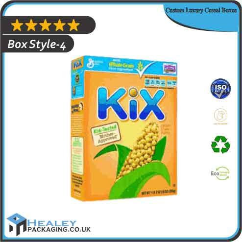 Wholesale Luxury Cereal Box