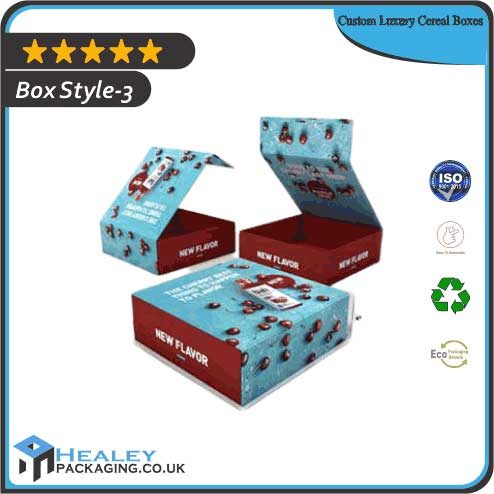 Wholesale Luxury Cereal Boxes