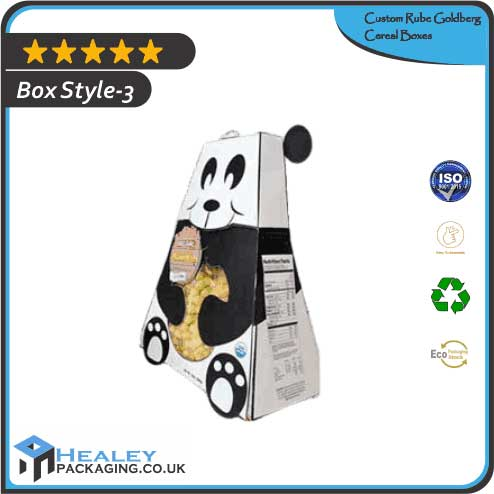 Wholesale Rube Goldberg Cereal Boxes