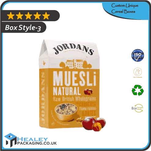 Wholesale Unique Cereal Boxes