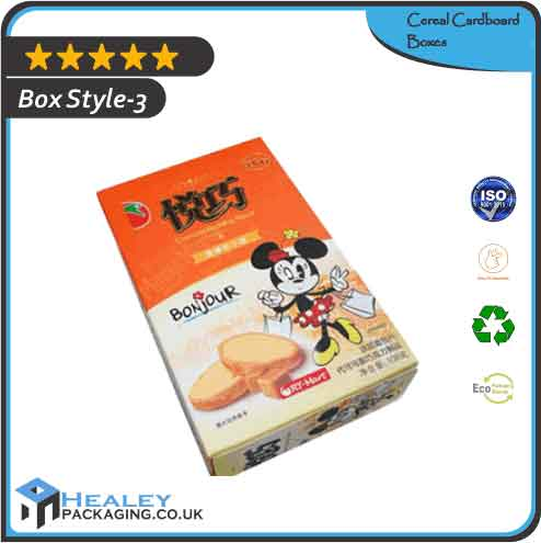 Cereal Cardboard Boxes
