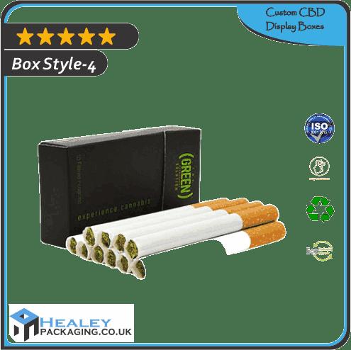 Custom Cannabis Cigarette Box