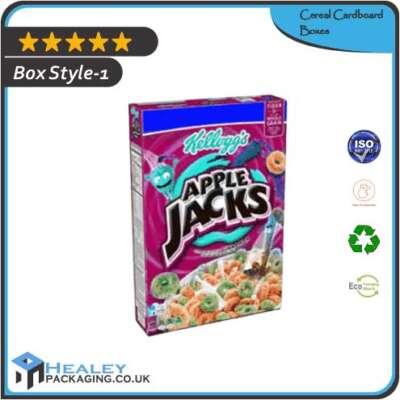 Custom Cereal Cardboard Boxes