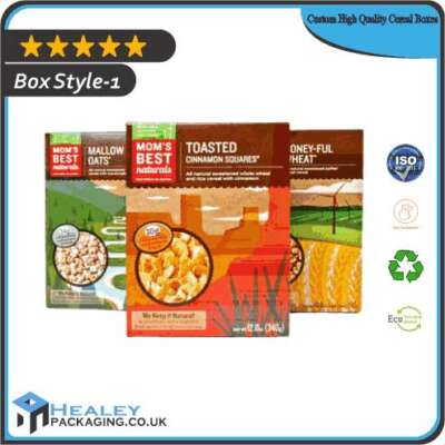 Custom High Quality Cereal Boxes