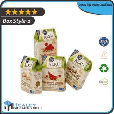 Custom High Quality Cereal Box