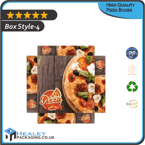 Custom High Quality Pizza Box