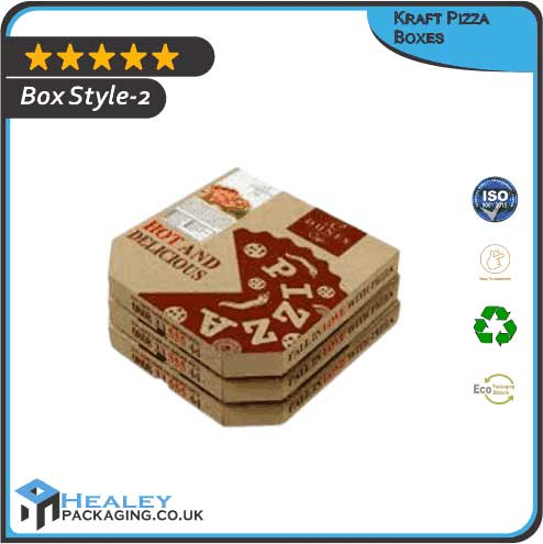 Custom Kraft Pizza Box
