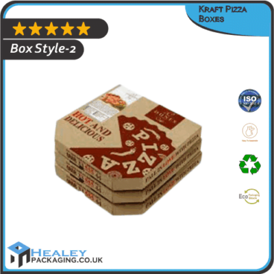 Custom Kraft Pizza Box