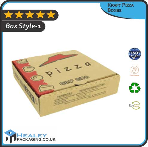 Custom Kraft Pizza Boxes
