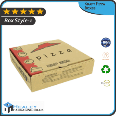 Custom Kraft Pizza Boxes