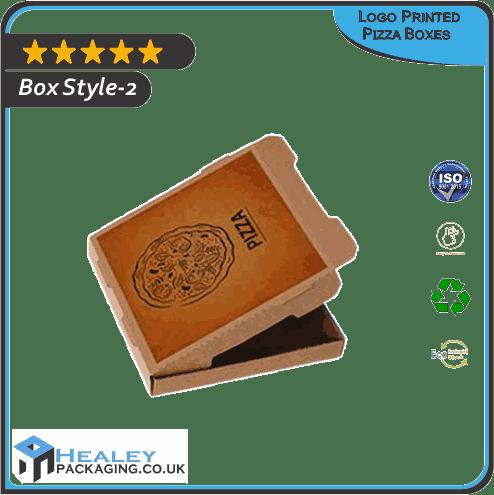 Custom Logo Printed Pizza Box