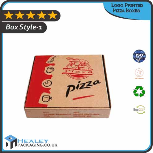 Custom Logo Printed Pizza Boxes