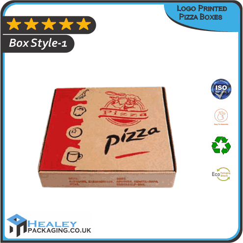 Custom Logo Printed Pizza Boxes