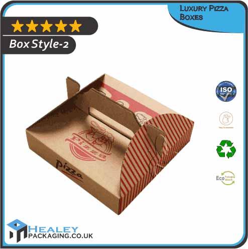 Custom Luxury Pizza Box