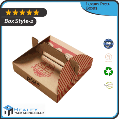 Custom Luxury Pizza Box