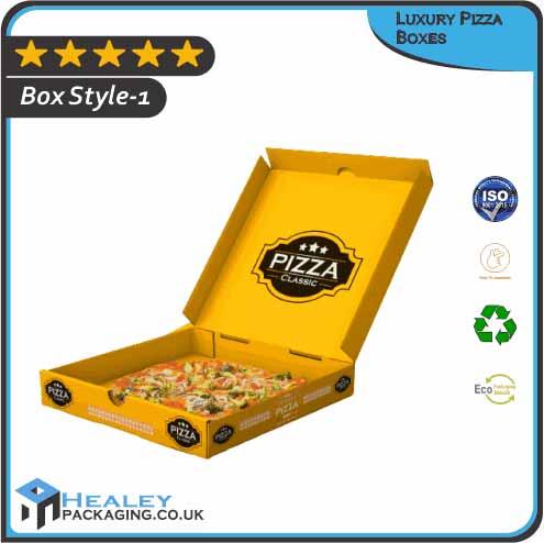 Custom Luxury Pizza Boxes