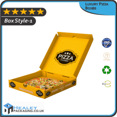 Custom Luxury Pizza Boxes