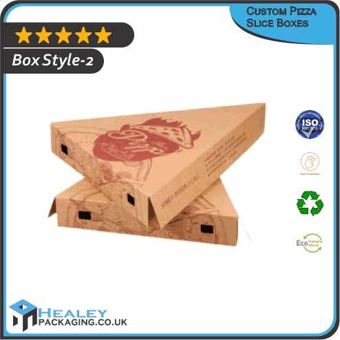 Custom Pizza Slice packaging Box