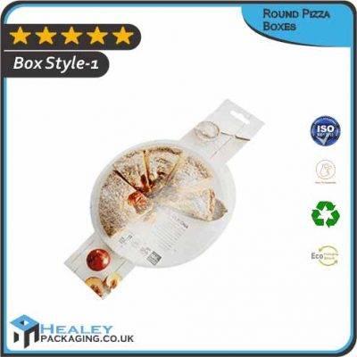 Custom Round Pizza Boxes