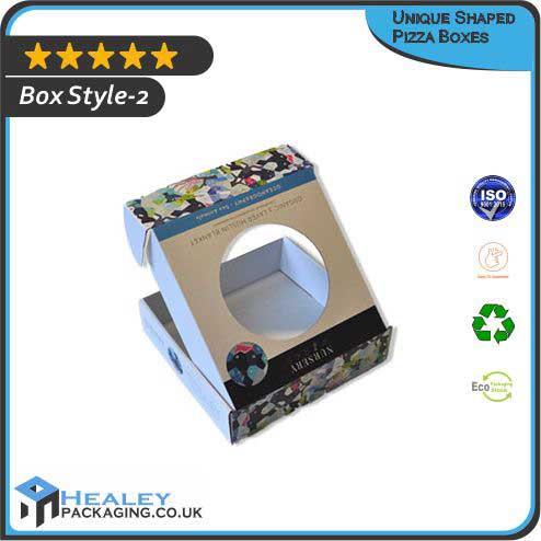 Custom Unique Shaped Pizza Box