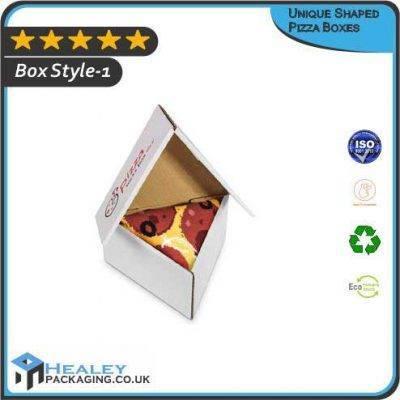 Custom Unique Shaped Pizza Boxes