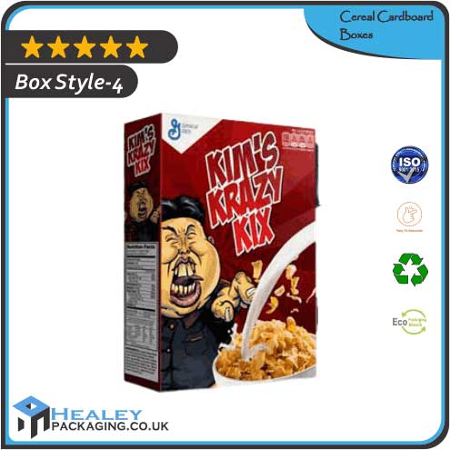 Printed Cereal Cardboard Box