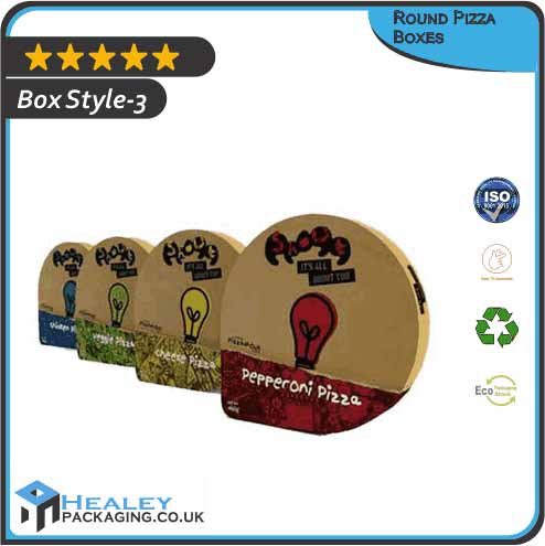 Round Pizza Boxes
