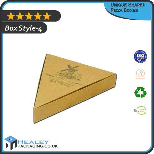 Unique Shaped Pizza Box