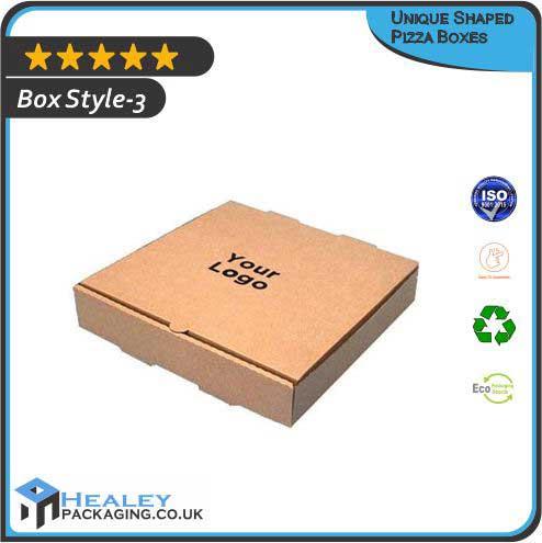Unique Shaped Pizza Boxes