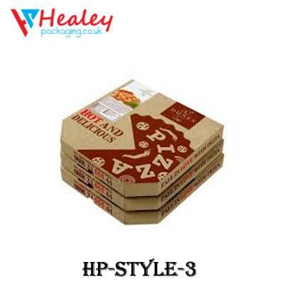 Wholesale Kraft Pizza Boxes