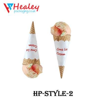 Custom Cone Sleeve Packagin