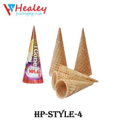 Printed Cone Sleeve Packaging