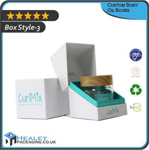 Body Oil Packaging Boxes