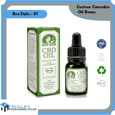 Cannabis Oil Packaging Box