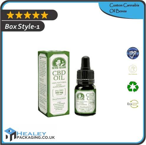 Custom Cannabis Oil Boxes