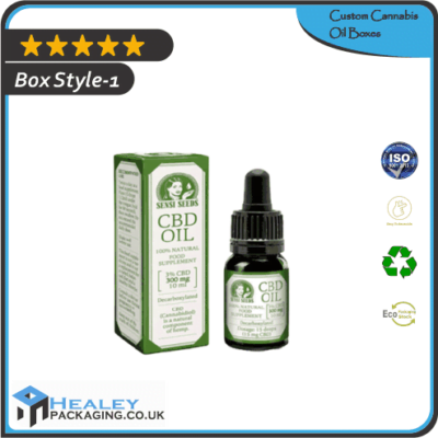 Cannabis Oil Packaging Boxes