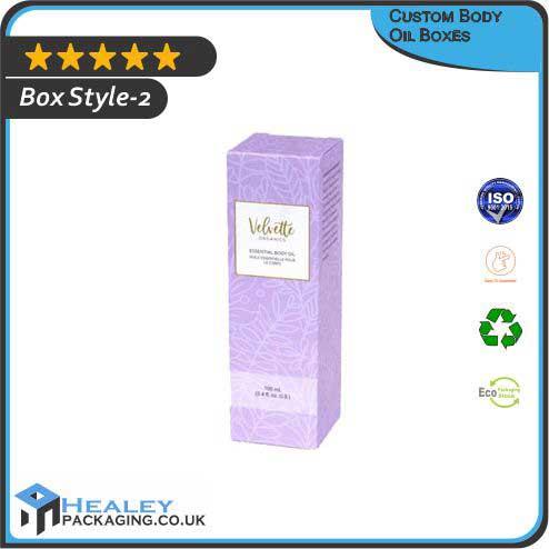 Custom Body Oil Box