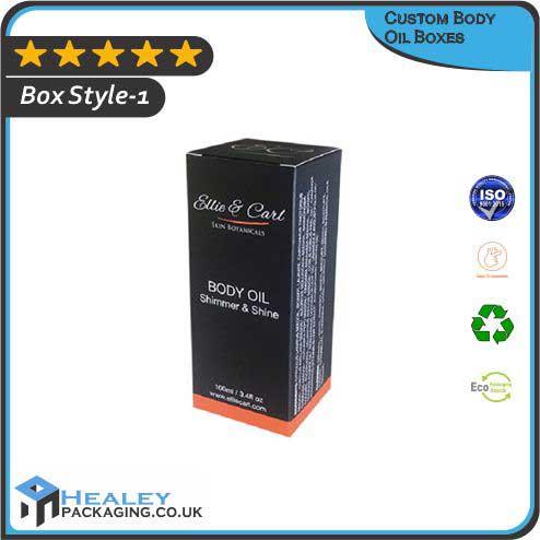 Custom Body Oil Boxes