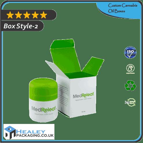 Custom Cannabis Oil Box