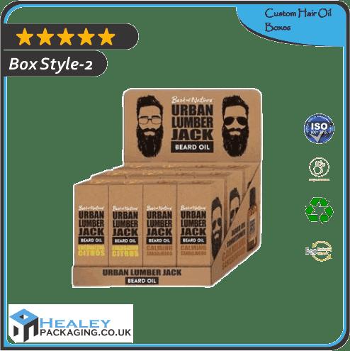 Custom Hair Oil Box