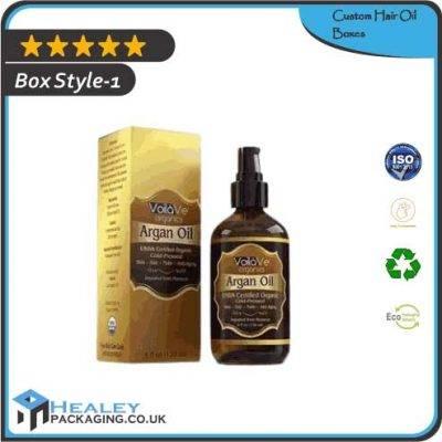 Custom Hair Oil Boxes