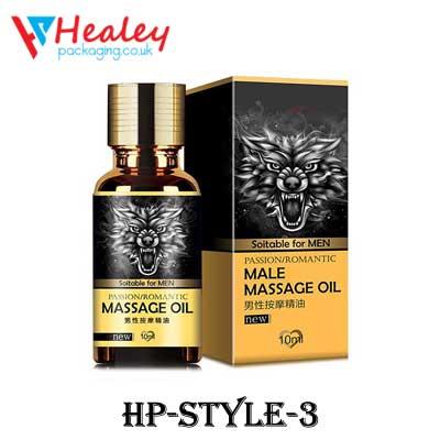 Hair Oil Packaging Boxes