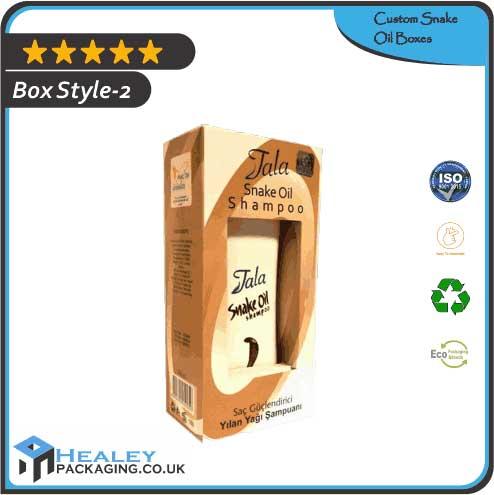 Custom Snake Oil Box