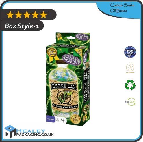 Custom Snake Oil Boxes