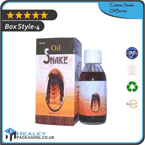 Printed Snake Oil Box